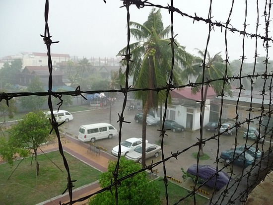 S21 - View from block in rain