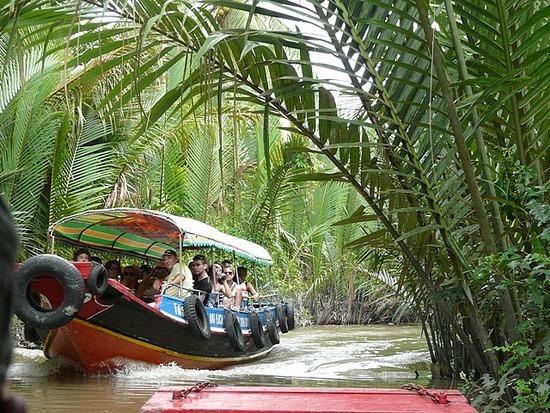 Mekong Waterways near My Tho 3