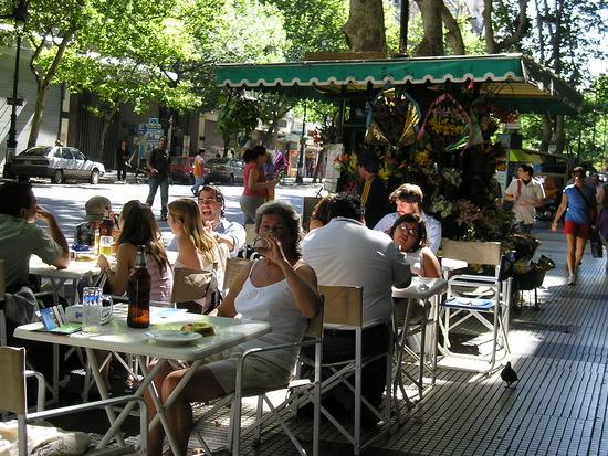 BA - Ave de Mayo - Street cafe