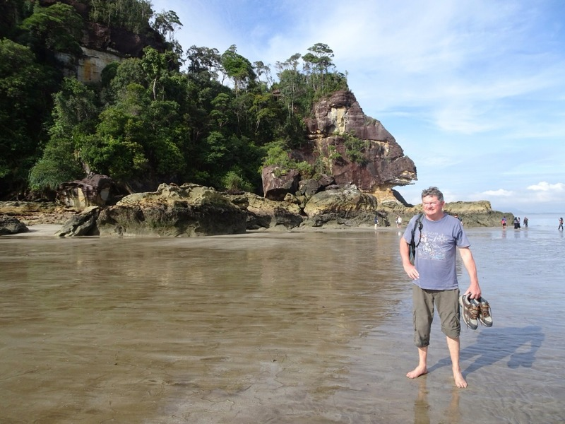 Arrival at beach - Bako 2
