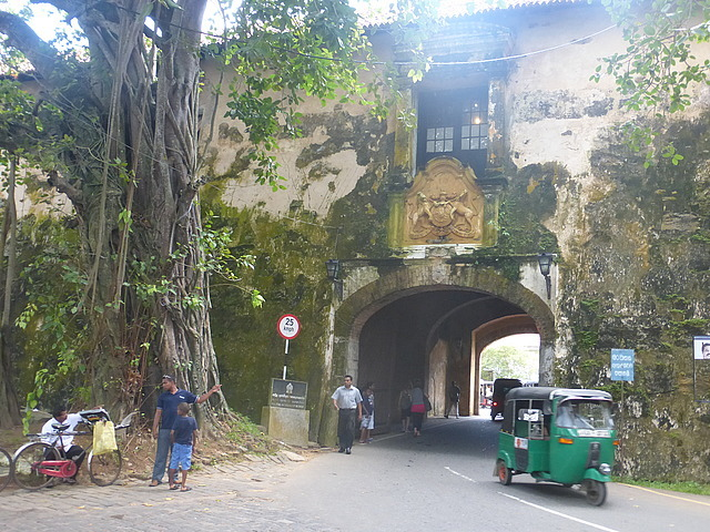Galle Fort - Old Gate