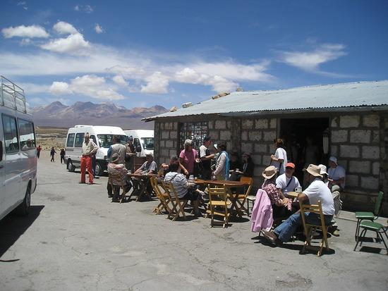 Colca Trip - Coca tea stop 1