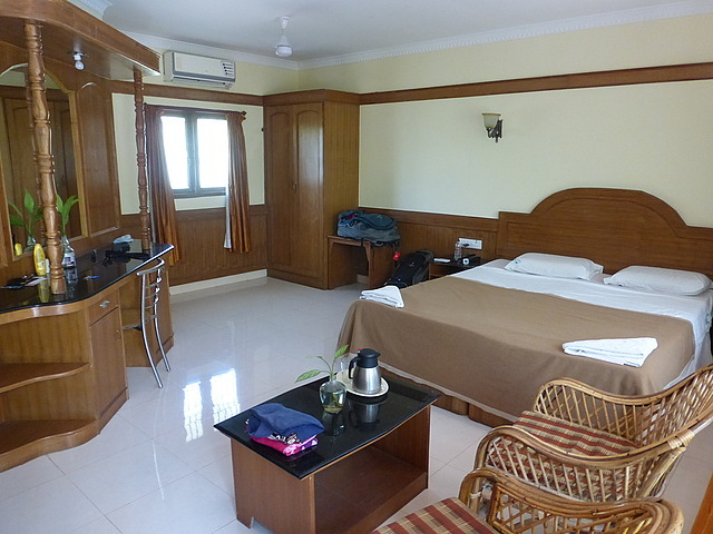 Hotel Mahabs - our room