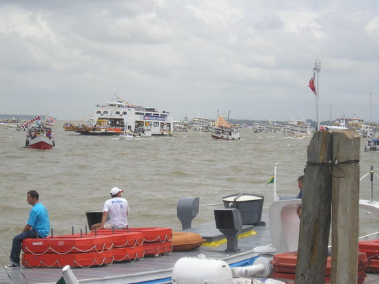 Belem - Cirio Boat Procession (Sat)
