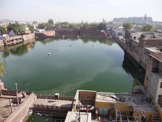 Hotel Pal Haveli view from roof - Gulab Sagar