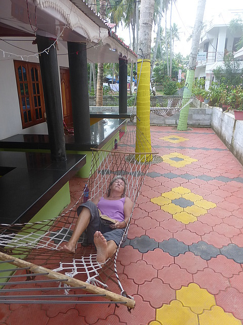 Guest House - our hammock!