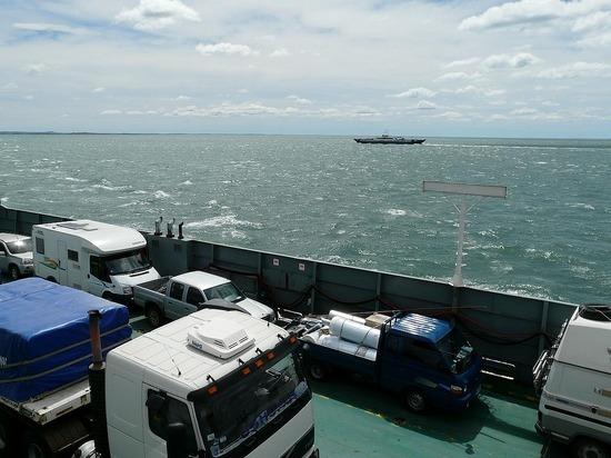 Magellan Straits - Ferry