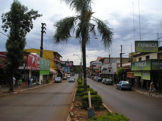 Puerto Iguazu town
