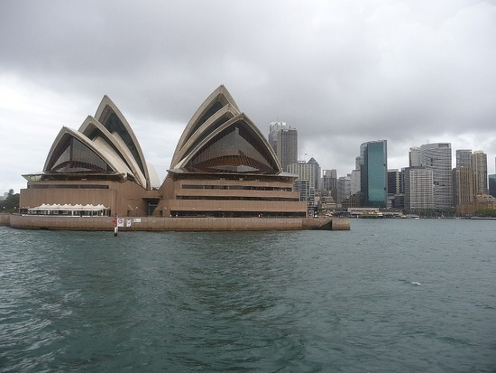 Sydney Opera House from Watson Bay Boat 2