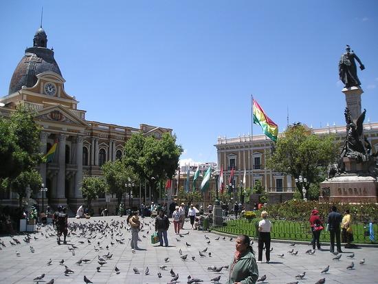 La Paz - Plaza Murillo 1