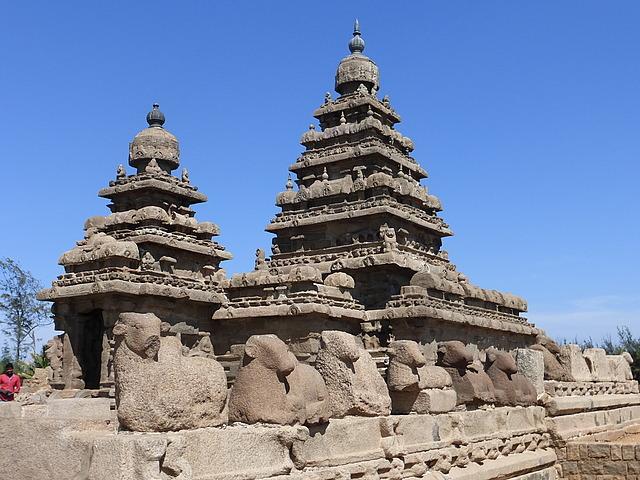 Mamallapuram Shore Temples 4