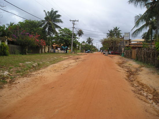 Imbassai - The track to the village