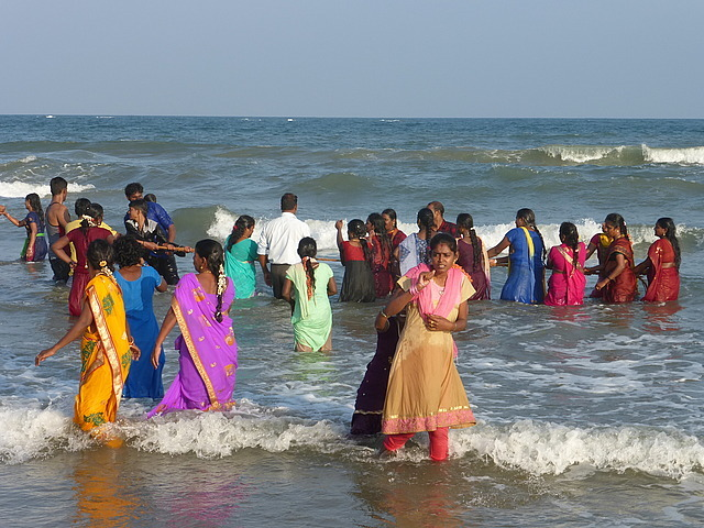 Beach scene by Shore Temples -Tug of war 2