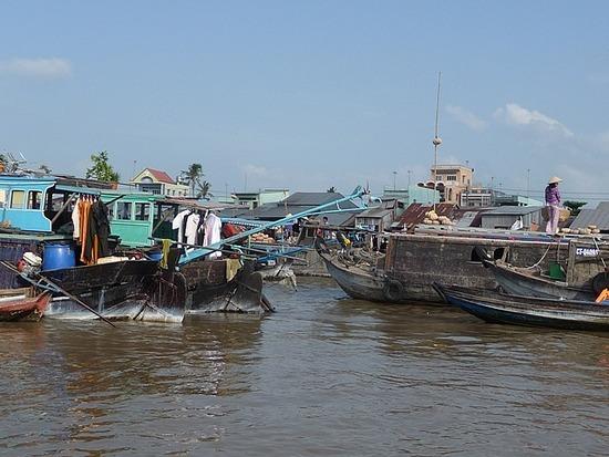 Nr Can Tho - Cam Rai Floating Market 2