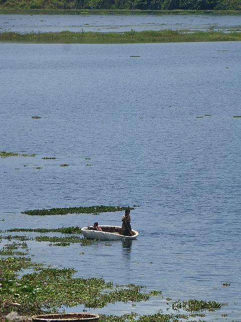 Day trip - On a lake