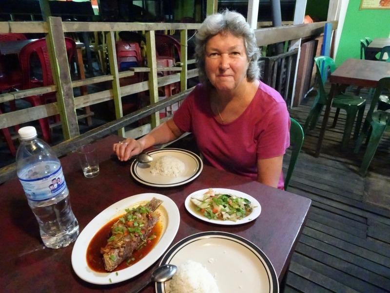 Fresh fish 3rasa style   mixed veg and rice