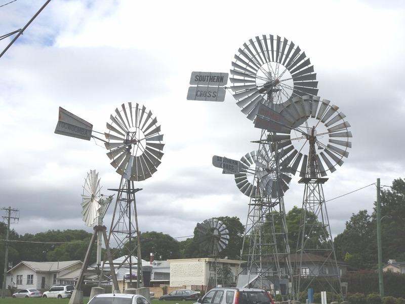 Toowoomba - Southern Cross windmills
