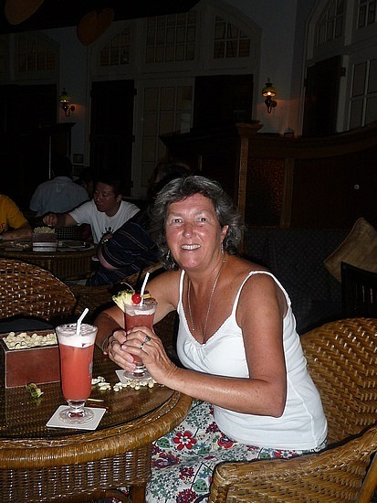 Raffles Hotel - Singapore Sling  ... Disappointing