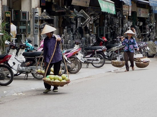 Old Hanoi with the sun shining 5