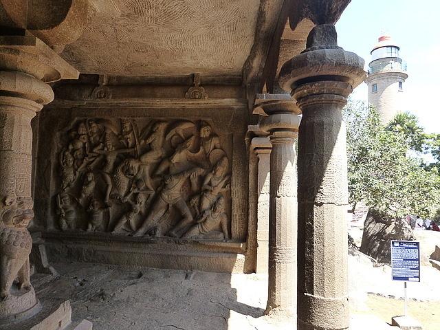 Cave temple on Mamallapuram hill