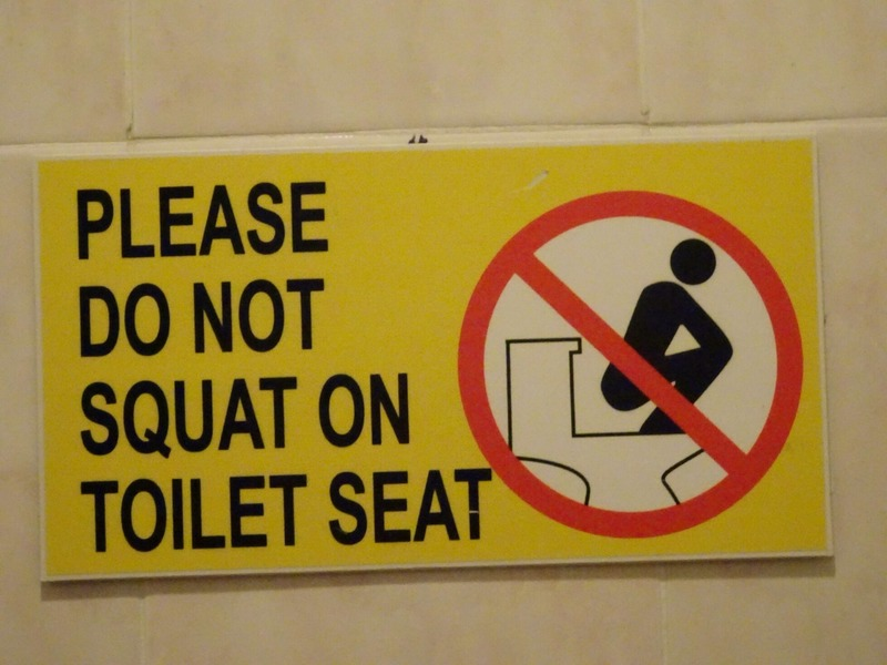 """Old Town"" Cafe - ladies toilet!"
