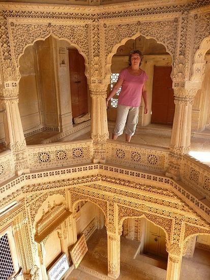Around Jaisalmer - Amar Sagar Jain Temple