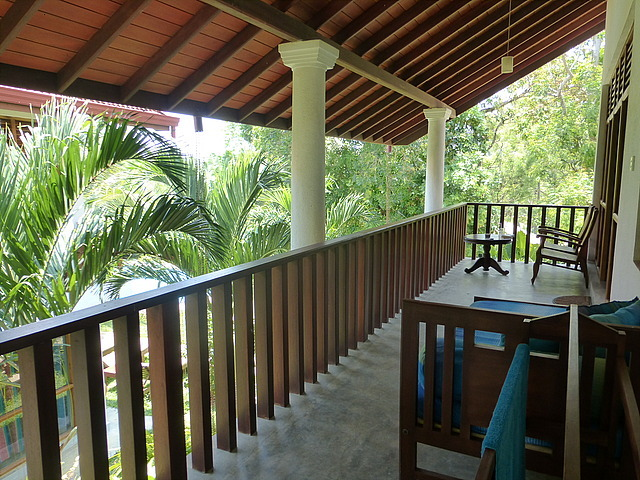 Guest house - our balcony