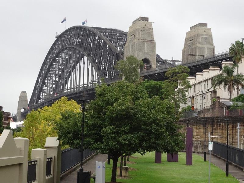 Harbour Bridge from the Rocks