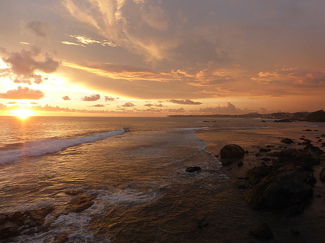 Western ramparts - sunset