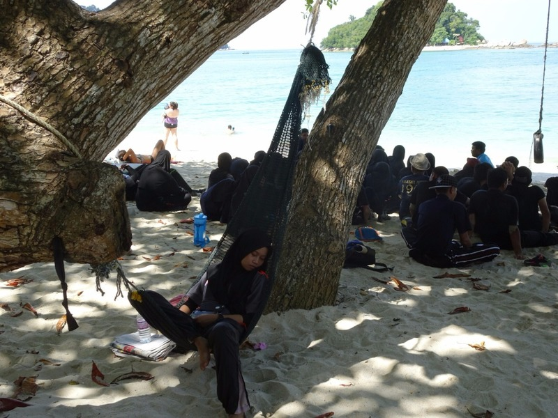 Locals enjoying the beach 2