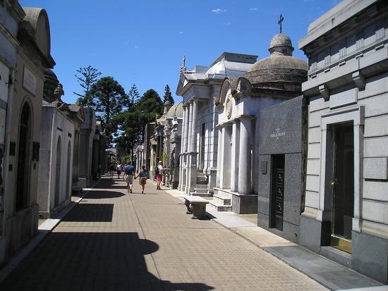 Recoleta District - Cemetery