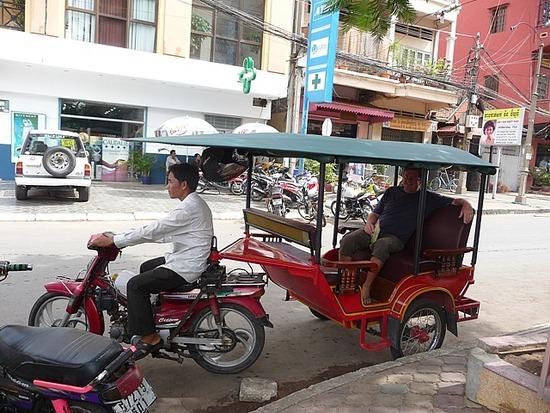 Transport around town - Tuk tuk