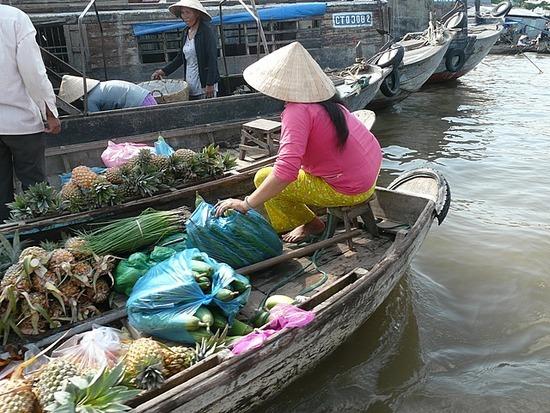 Nr Can Tho - Cam Rai Floating Market 5