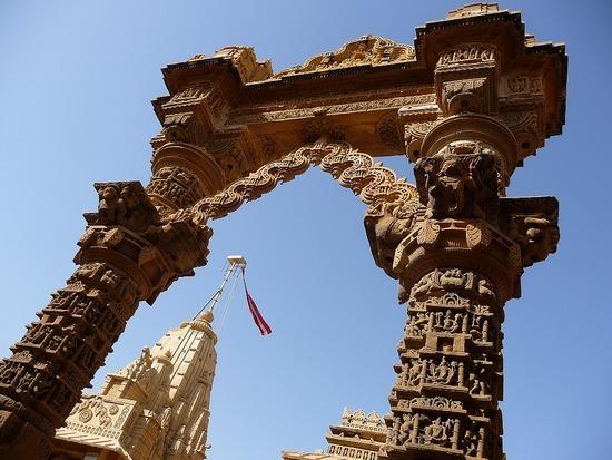 Around Jaisalmer - Loderwa Jain Temples 2