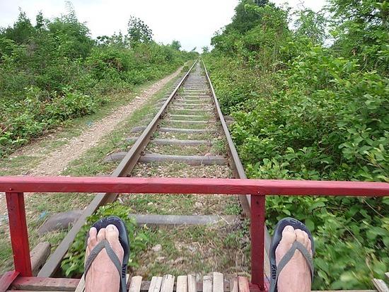 Tuk-tuk outing - Bamboo train 2