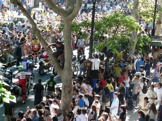 Dakar Parade - Crowd