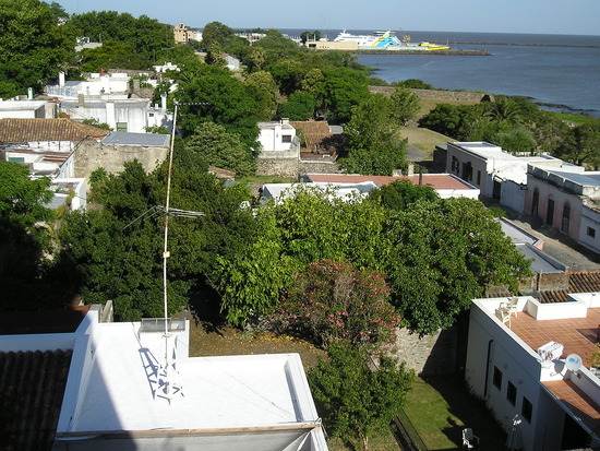 Colonia del Sacramento view from Lighthouse
