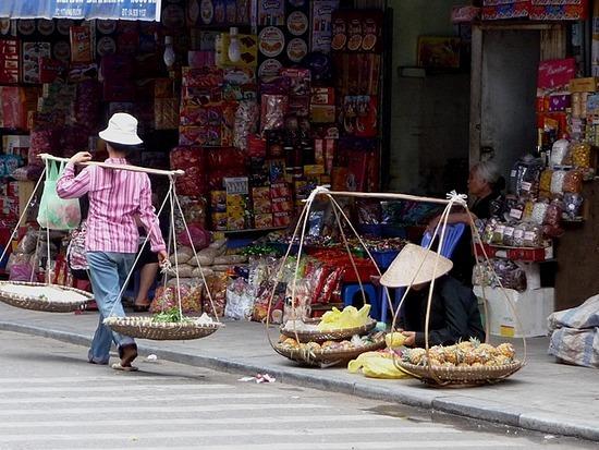 Old Hanoi with the sun shining 4
