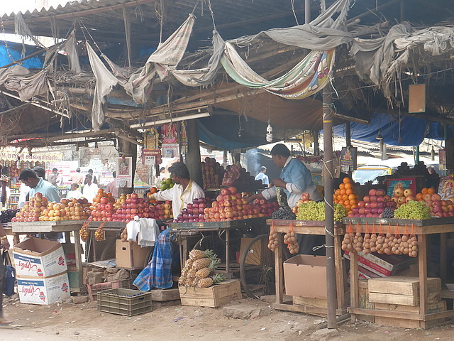 Around Town - fruit sellers