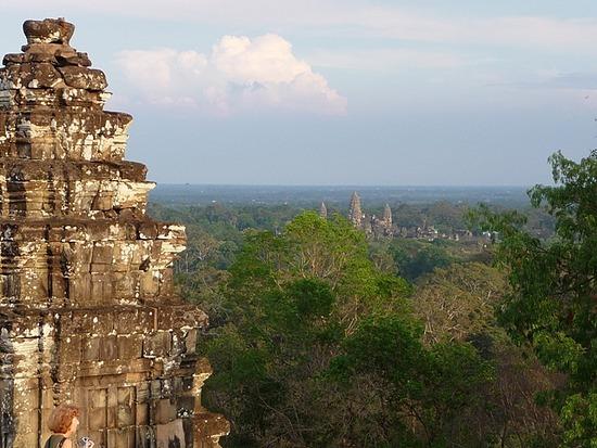 Bakheng and Angkor Wat