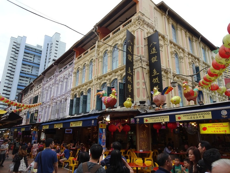 Chinatown - Shop houses