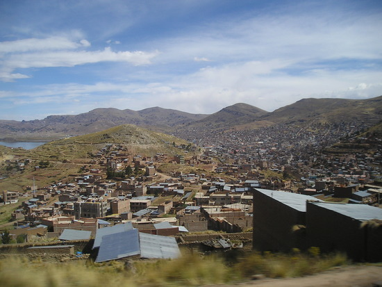 Cusco to Puno by Bus - Puno Arrival