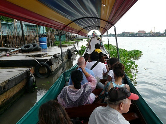 Longtail boat trip from Nonthaburi to Koh Teh 3