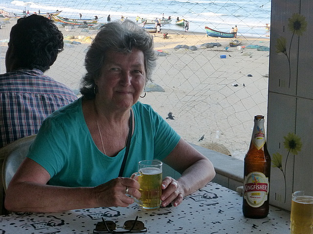 Beer with sea view 2