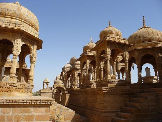 Around Jaisalmer - Royal Tombs