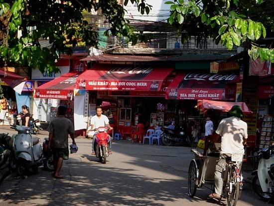 Old Hanoi with the sun shining 7