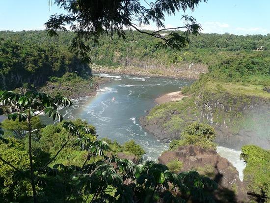 Iguazu Argentina Upper Trail view