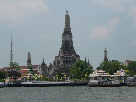 Wat Arun from River Express