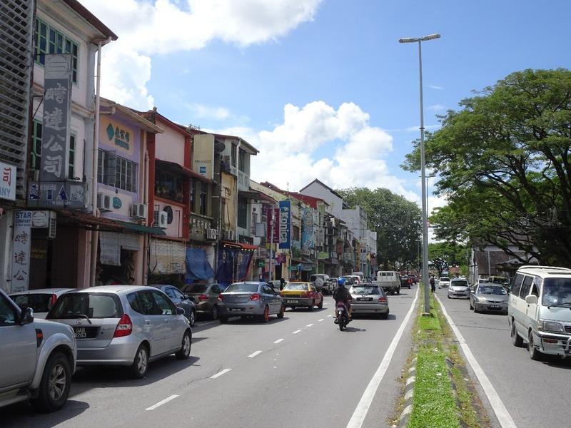 Around Kuching - Main Bazaar