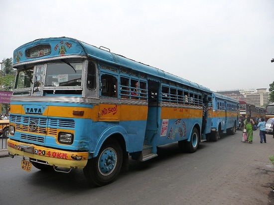 Calcutta Transport - Calcutta City Bus